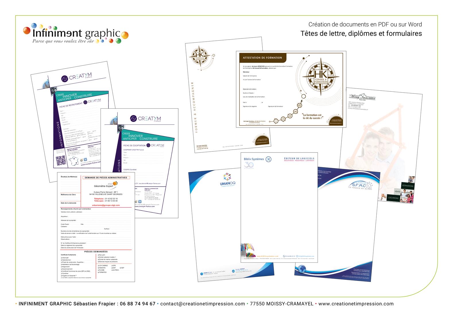 Présentations en PDF 1
