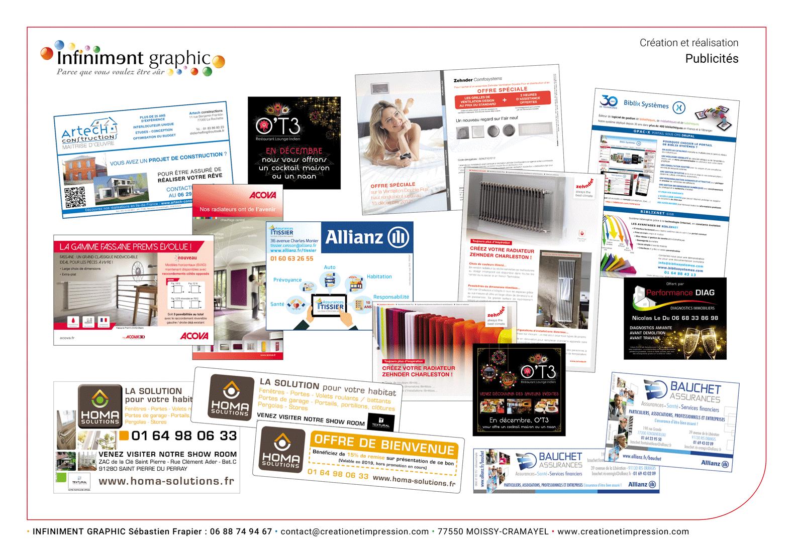 Visuels Publicités