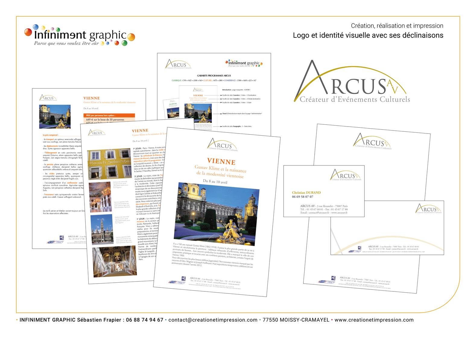 Arcus Logo Programme Papeterie