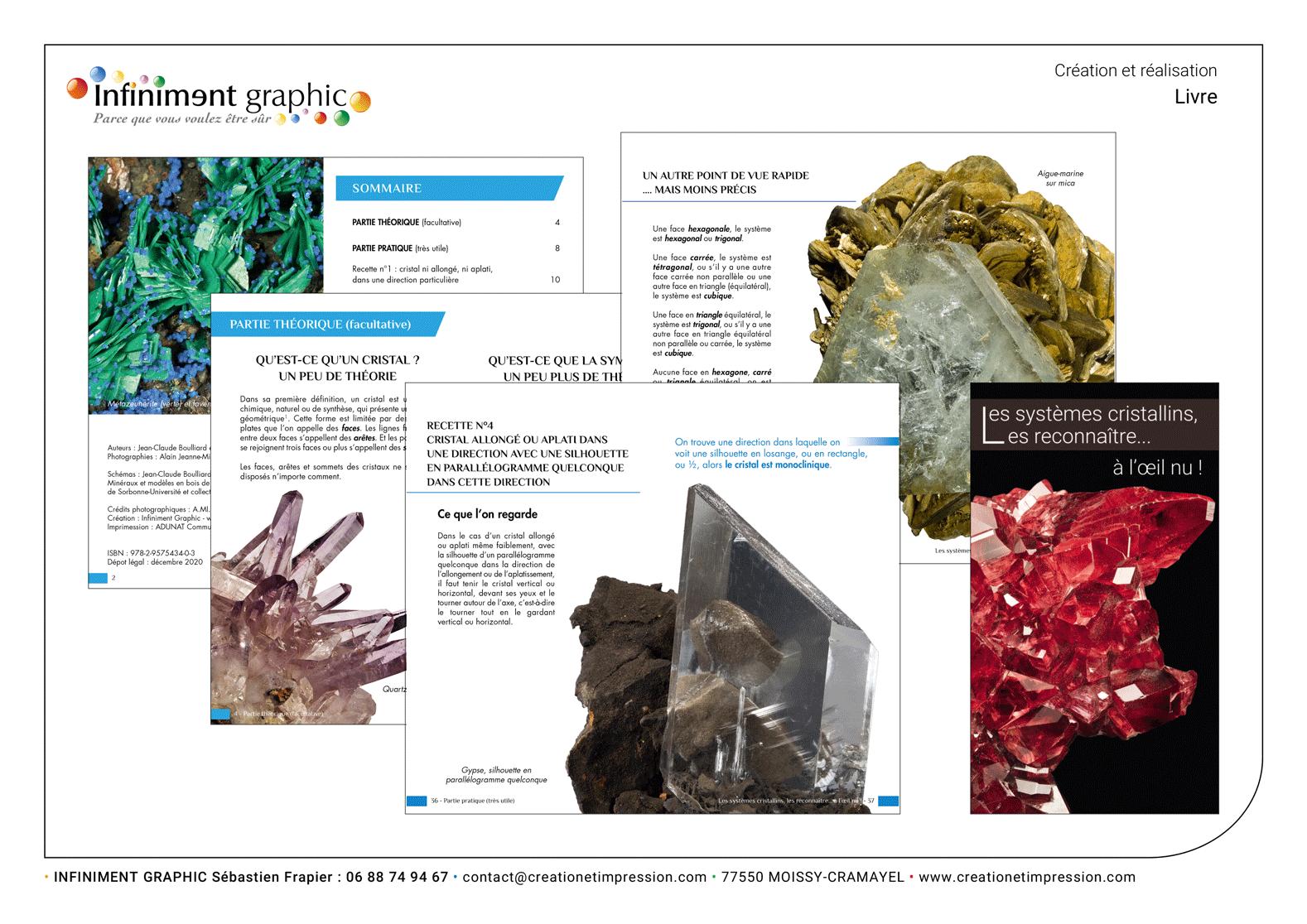 Création livre géologie 1