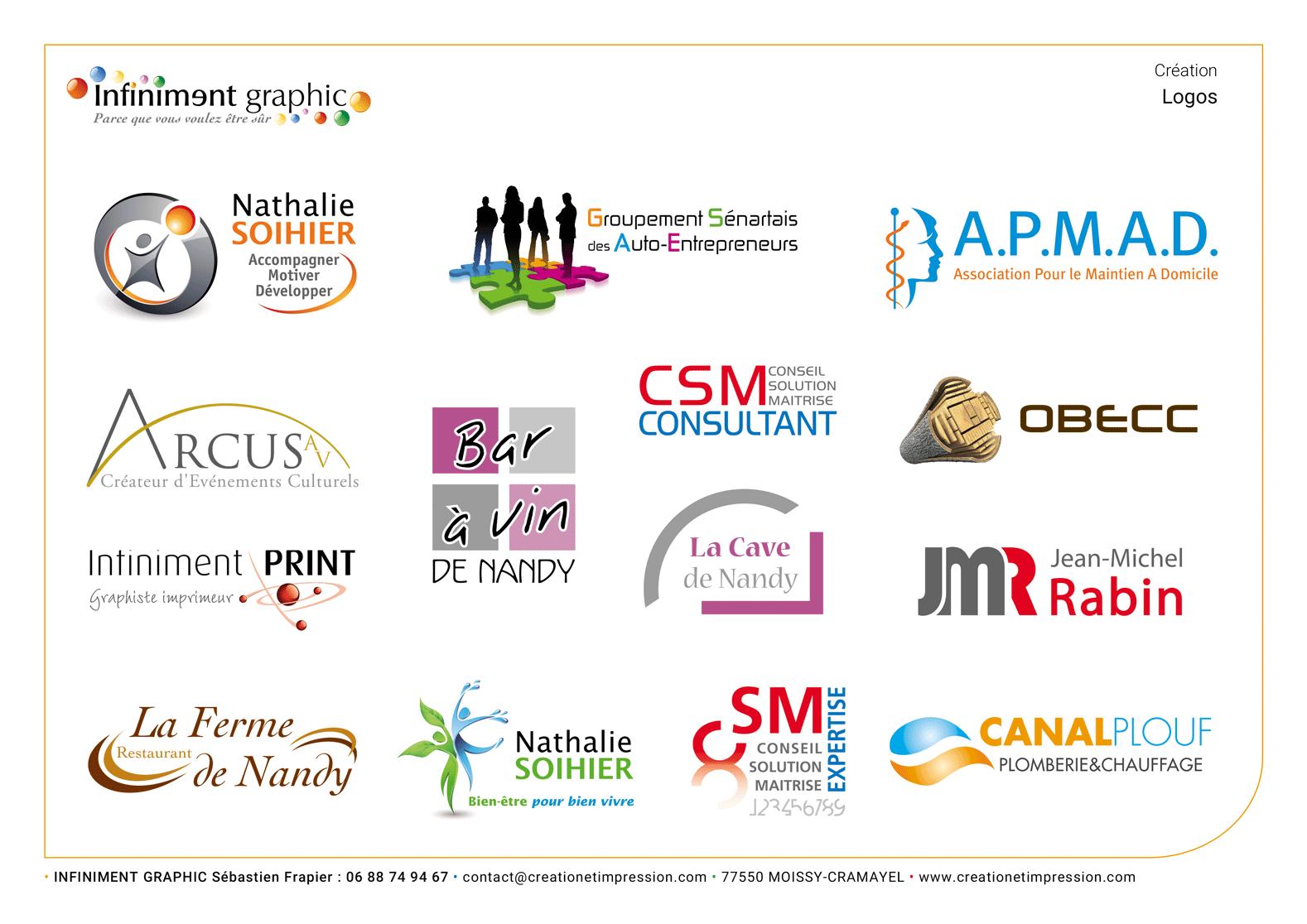 Planche de logos 2