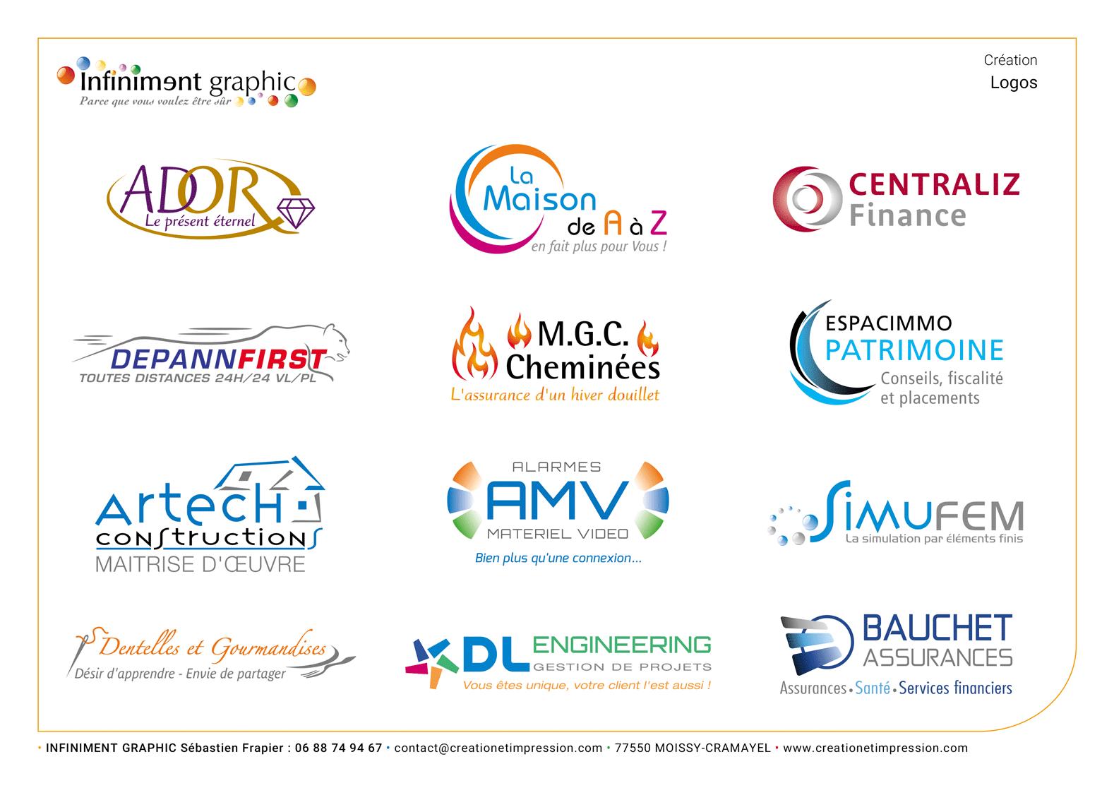Planche de logos 3