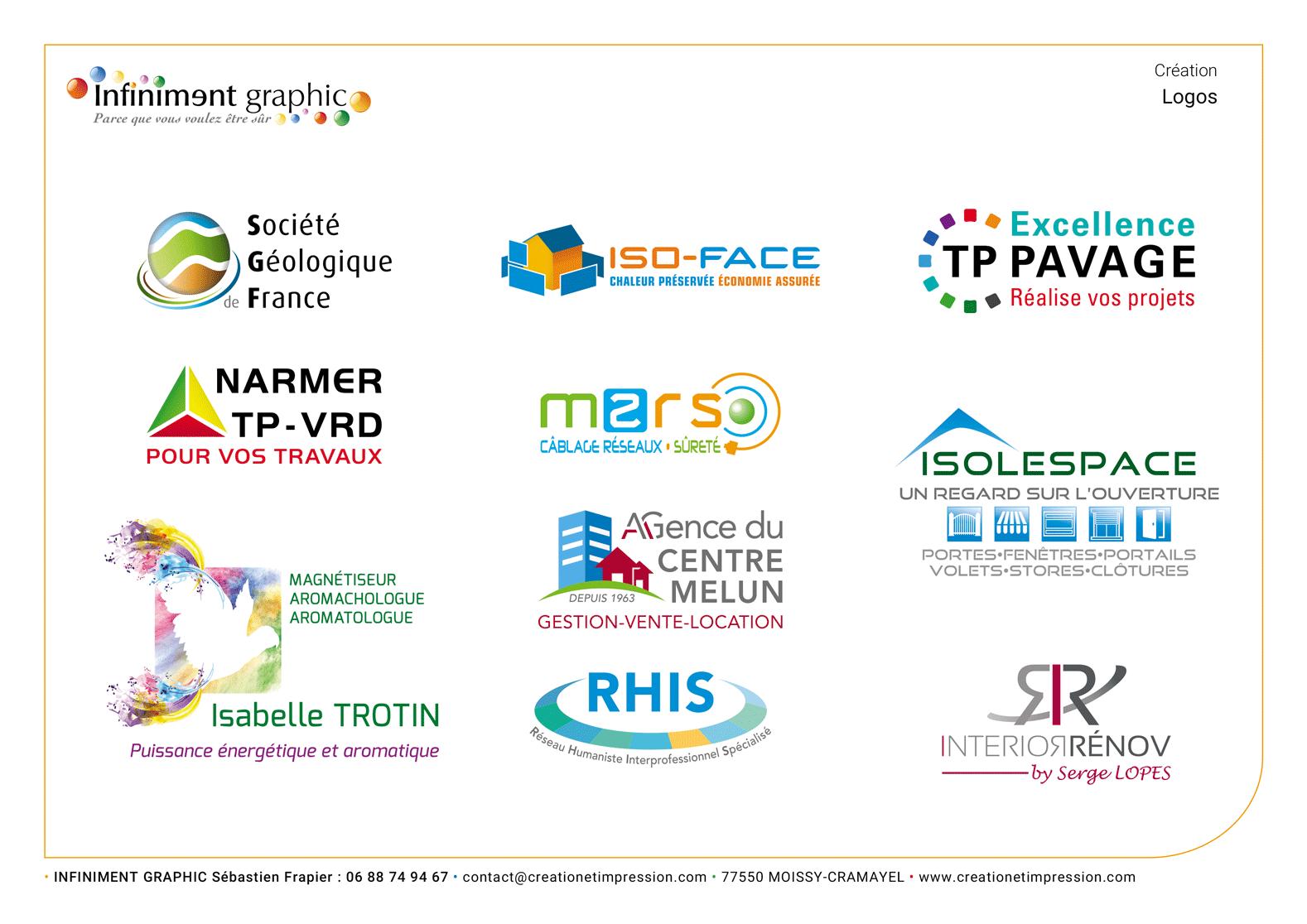 Planche de logos 5