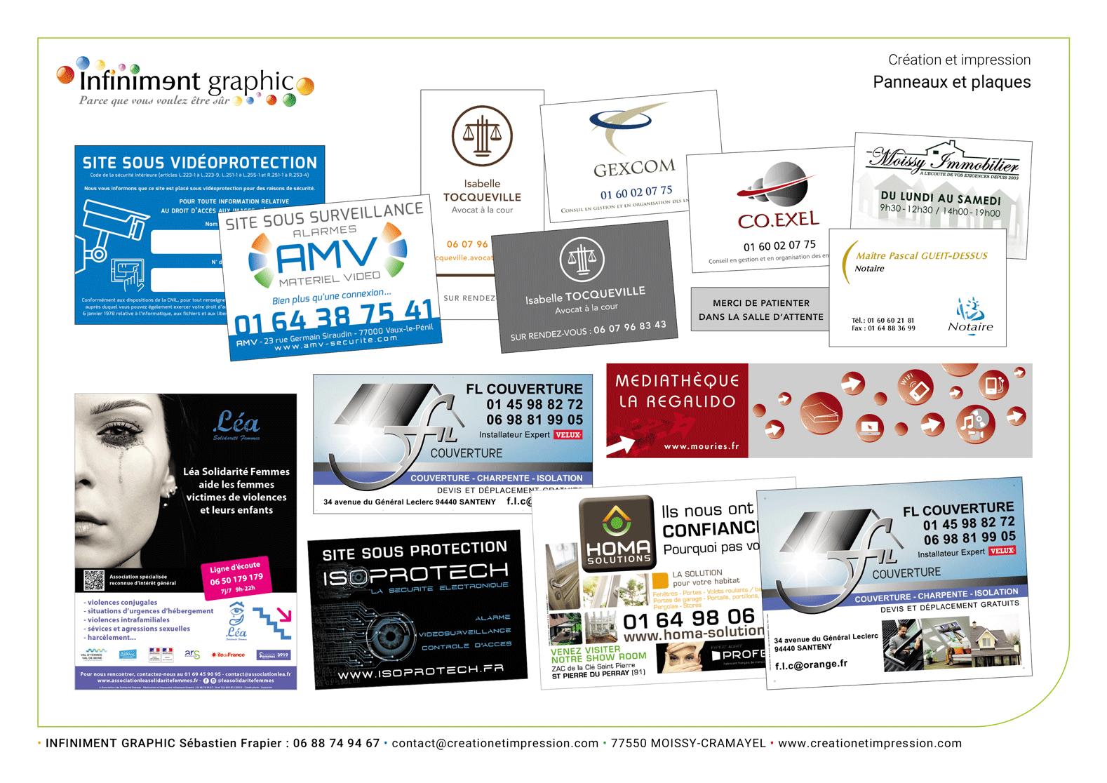Visuels Panneaux et plaques 2